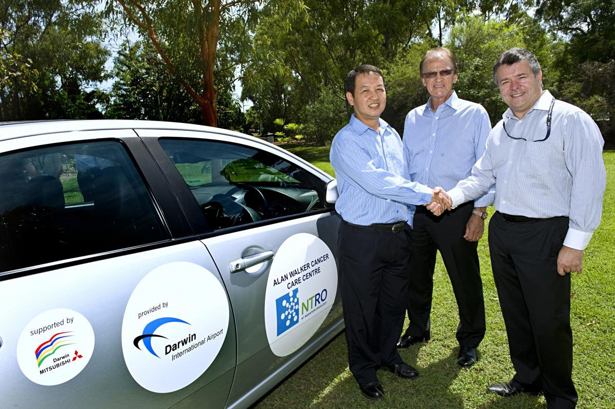 Darwin Airport donation to Alan Walker Care Centre