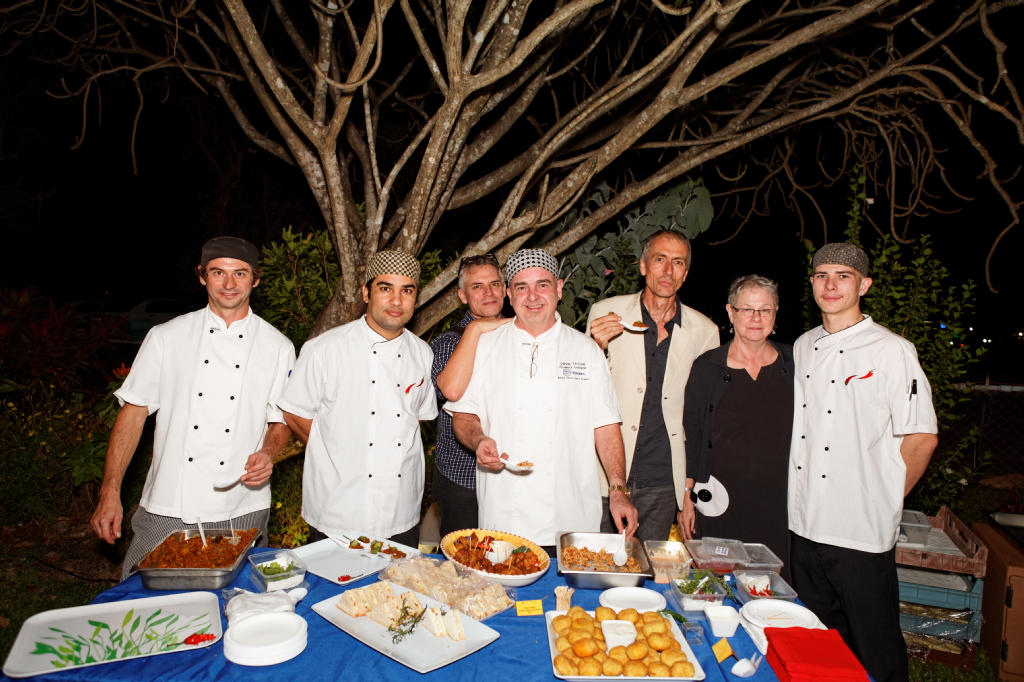 Knockabout Chefs catering Tracks' event, Eight to Eighty