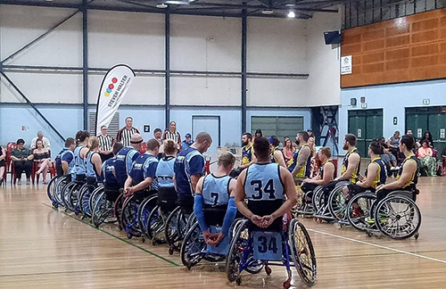 Wheelchair basketball Darwin